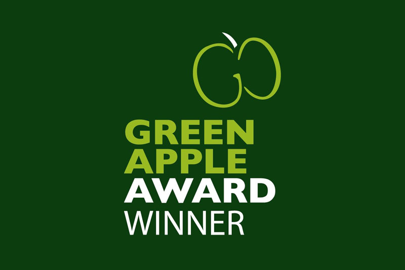 J&G Environmental Green Apple Award Winner