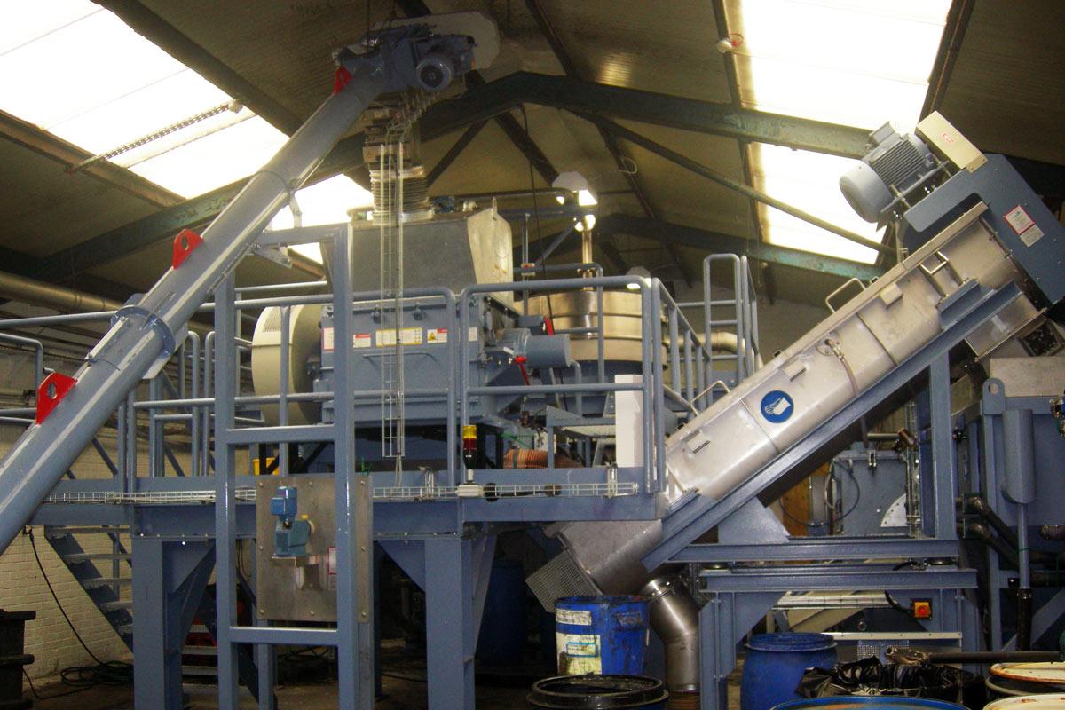 New Wash Plant at J&G Environment