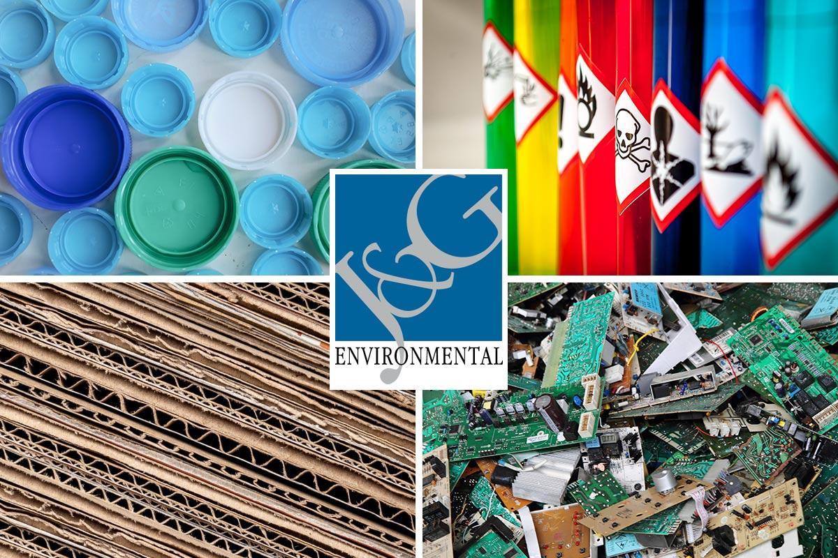 Non-Print Waste Recycling J&G Environmental